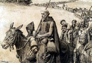 HISTOIRE ABRÉGÉE DE L'ÉGLISE - PAR M. LHOMOND – France - 1818 - DEUXIEME PARTIE ( Images et Cartes) Pierre_hermite2